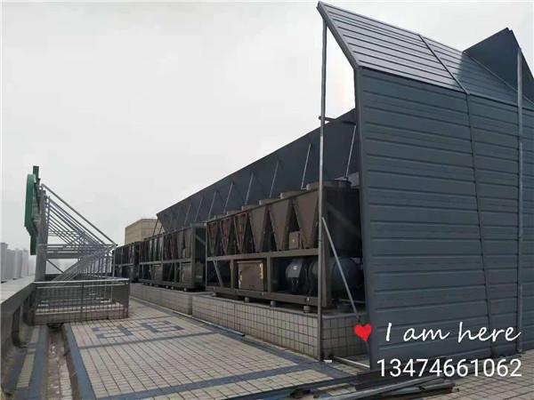 宝鸡海棠大酒店空调机组噪音治理