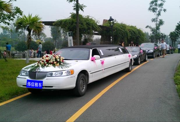 林肯婚庆车队¥3000元/天