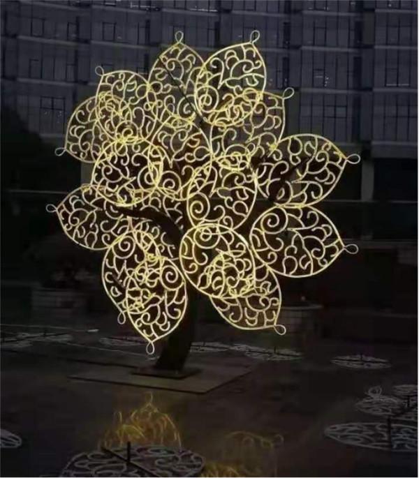 咸阳树造型