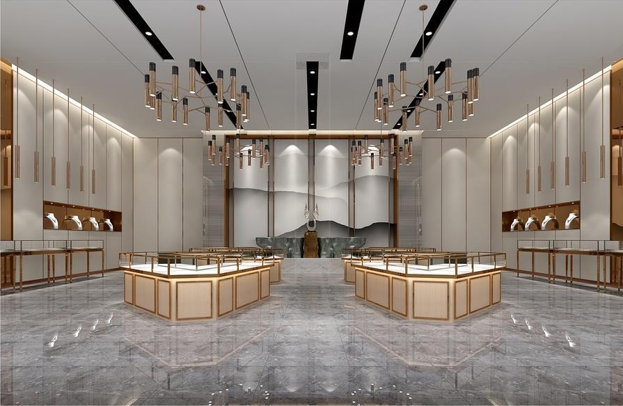 陕西珠宝展柜设计