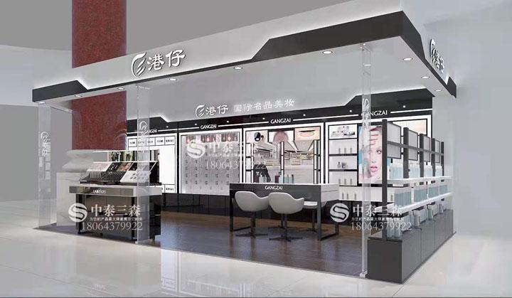 陕西化妆品展柜设计