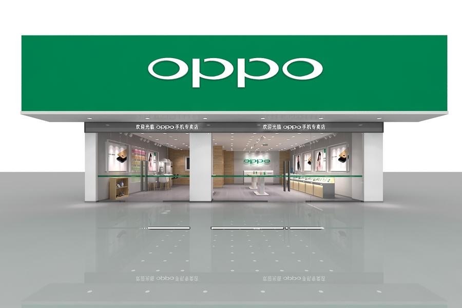 手机店展柜设计