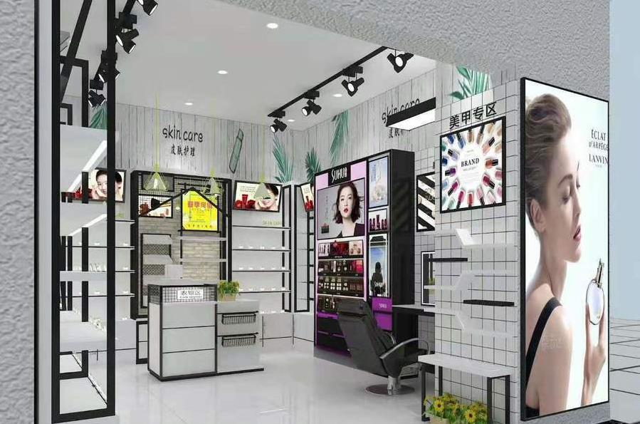 陕西化妆品展柜制作