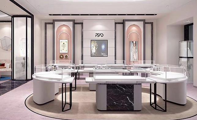西安商场珠宝店展柜设计需要了解哪些知识?你学会了吗?
