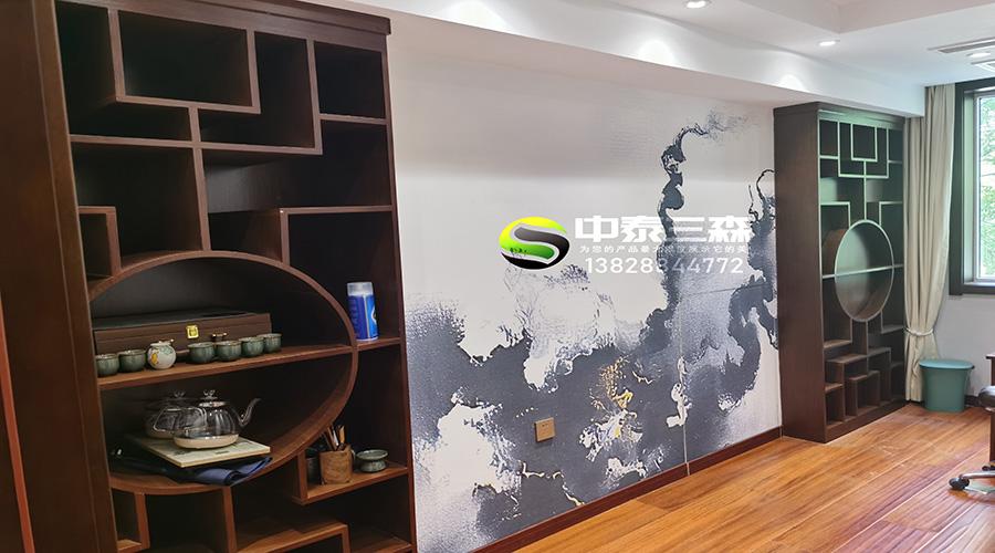 西安茶叶店展柜制作设计