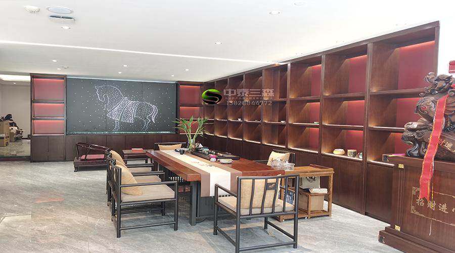 茶叶店展示柜设计