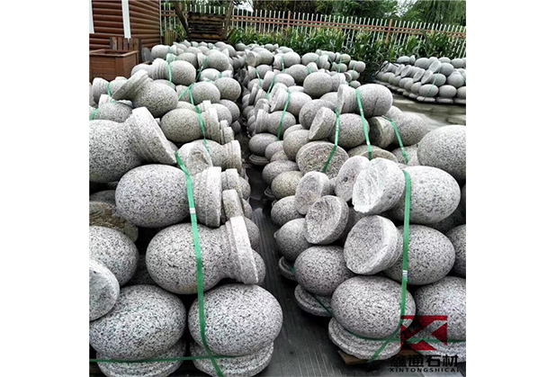 四川异形石材厂家-挡车石