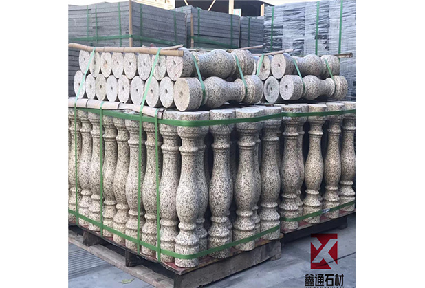 四川异形石材-宝瓶柱栏杆