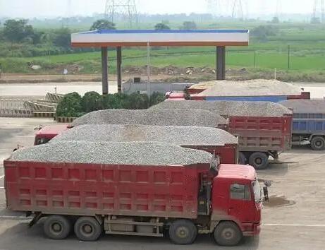 砂石运输案例