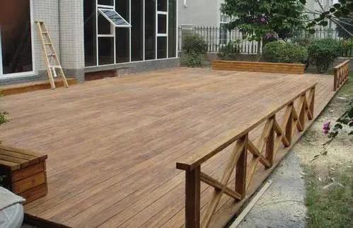 成都防腐木地板定制