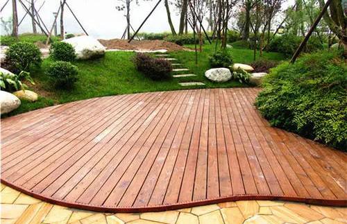 成都防腐木地板施工
