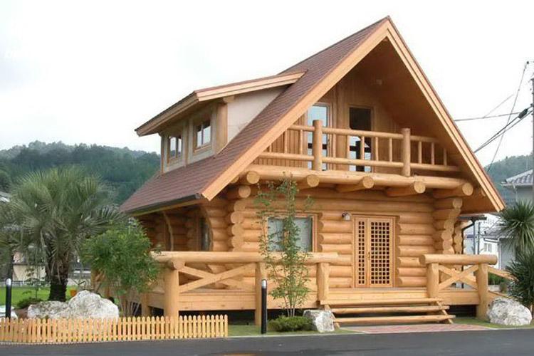 长期居住防腐木木屋有好处吗