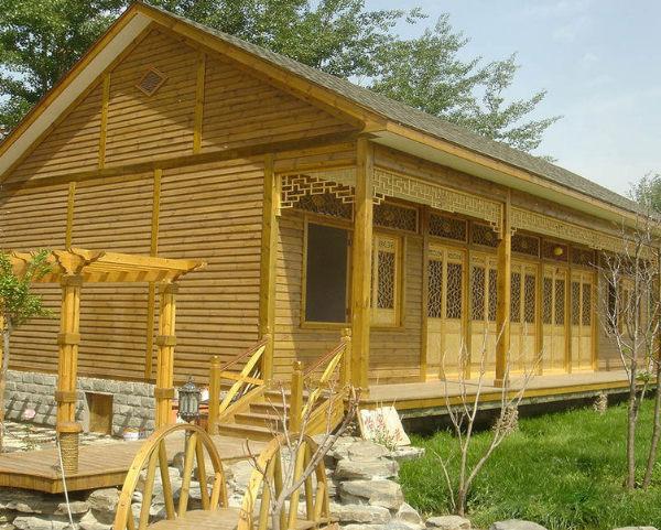 木屋别墅为什么要选择防腐木