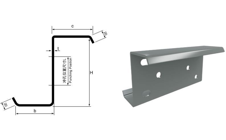 為合作廠家提供西安Z型鋼的產品供應