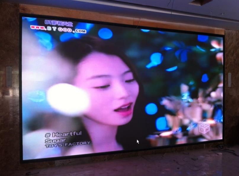 信阳国际茶城LED显示屏案例