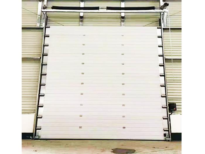 工业提升门更换门板及小门维修事项