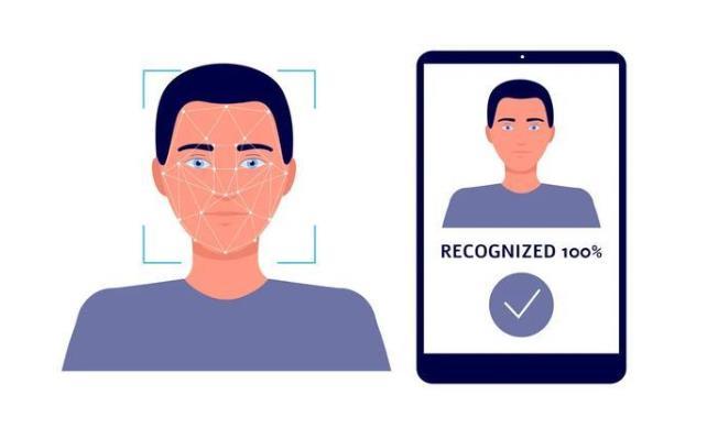 人脸识别系统图片