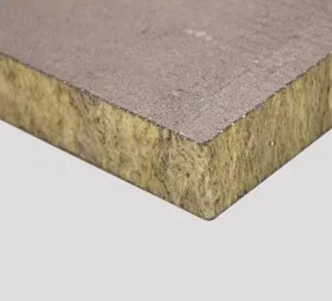 无饰面岩棉复合板
