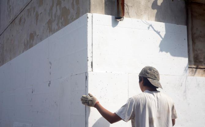 外墙保温材料图片