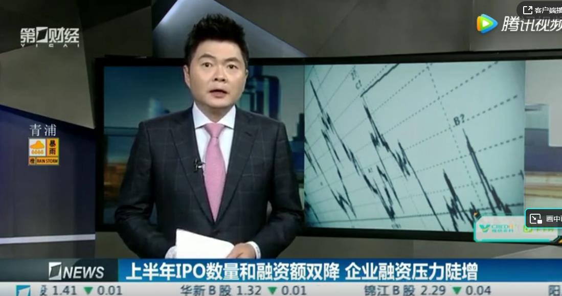报告:上半年A股IPO数量和筹资额双双上升