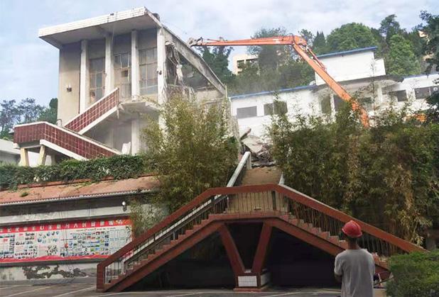 四川厂房拆除工程案例