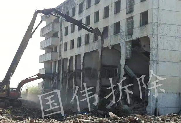 四川办公楼拆除