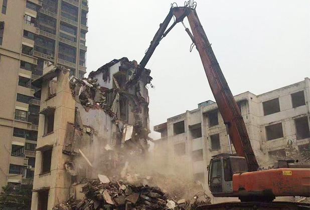 四川房屋拆除施工成功案例