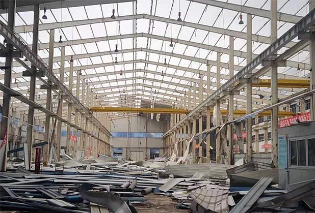 四川钢结构拆除工程案例