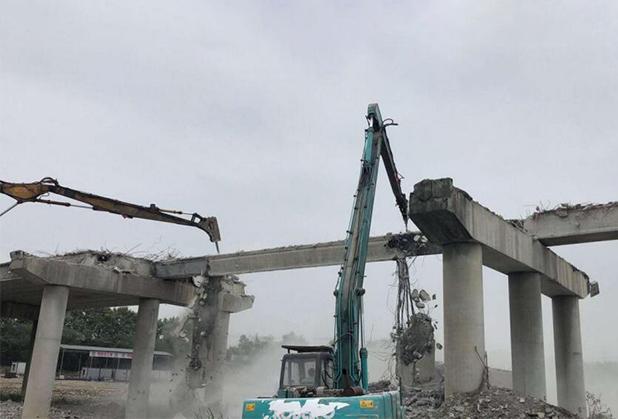 四川桥梁拆除成功案例