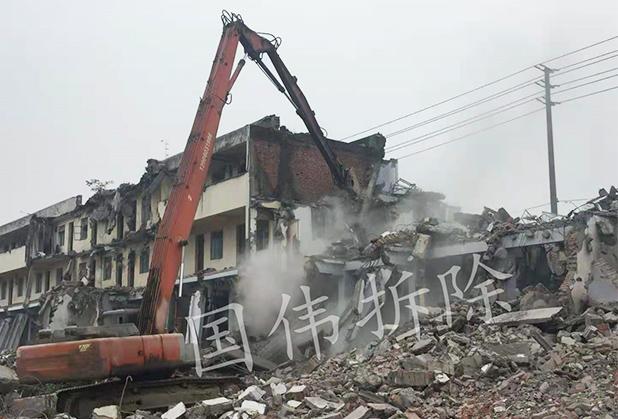 四川房屋拆除施工