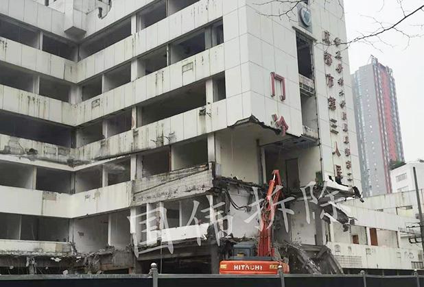 国伟房屋拆除与您分享高层楼房拆除的方法!