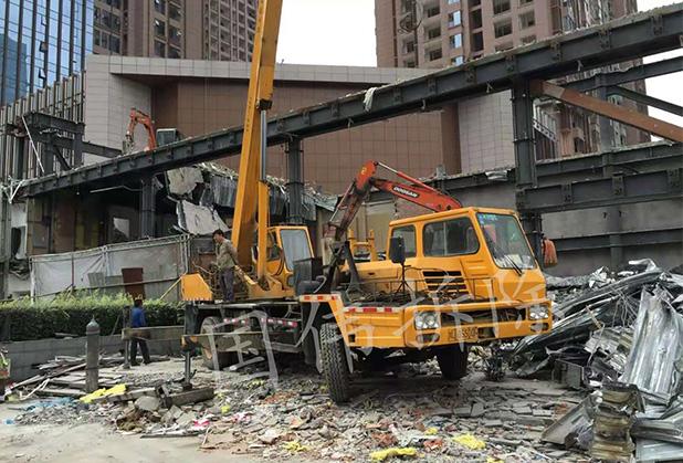 静力切割怎样运用在四川拆除工程中?