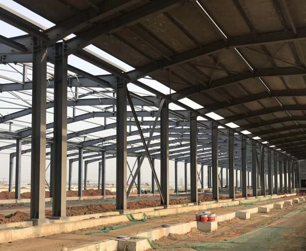 河南某厂家钢结构防火涂料案例