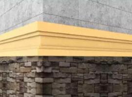 四川EPS腰线与墙体的正确连接方法介绍