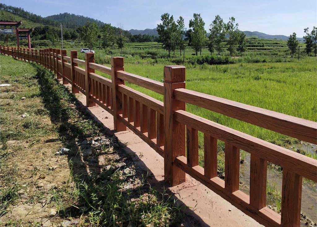 顺宇建材对于四川仿木护栏的装置办法浅析