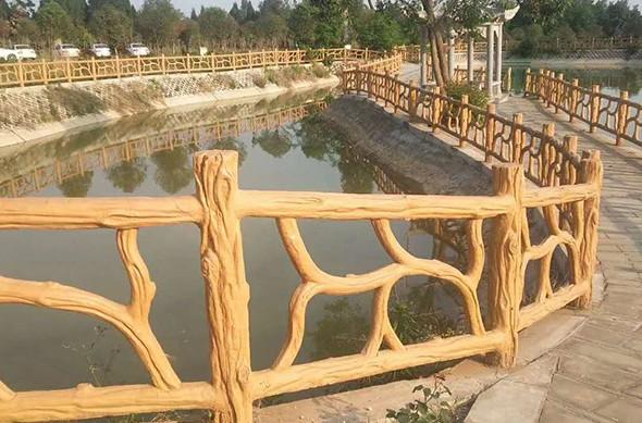 四川仿木护栏如何安装?