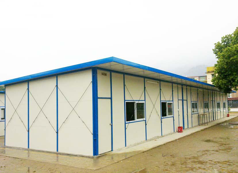 施工过程中四川T式活动板房如何做好安全措施