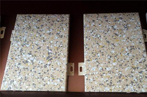 西安仿石材铝单板