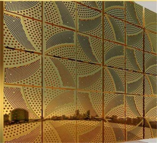 西安冲孔铝单板幕墙
