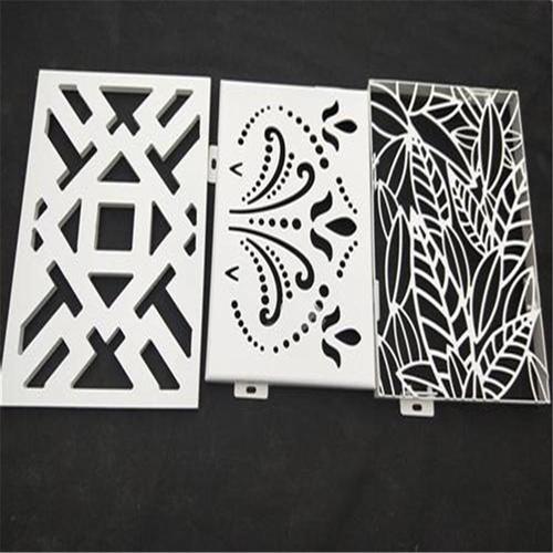 西安镂空铝单板