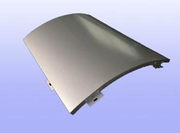 西安单曲铝单板价格