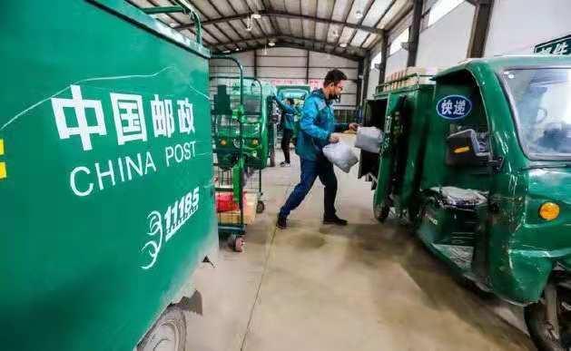 中國快遞業務量已突破400億件,預計今年將超950億件!