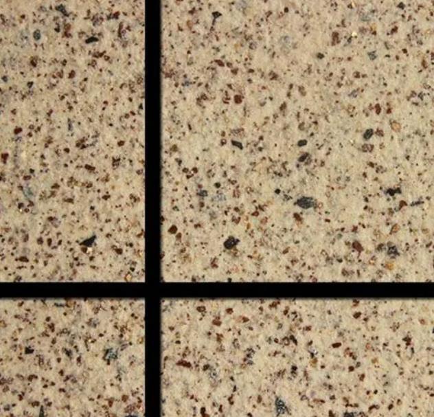 真石漆是一种装饰效果酷似大理石、花岗岩的涂料