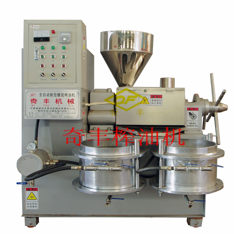 河南6YL-85型螺旋榨油机