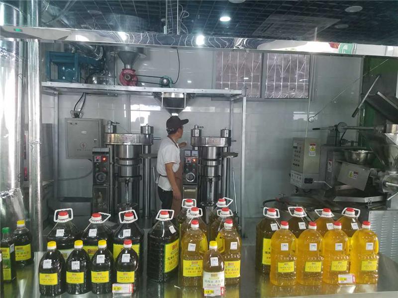 河南全自動榨油機成功案例