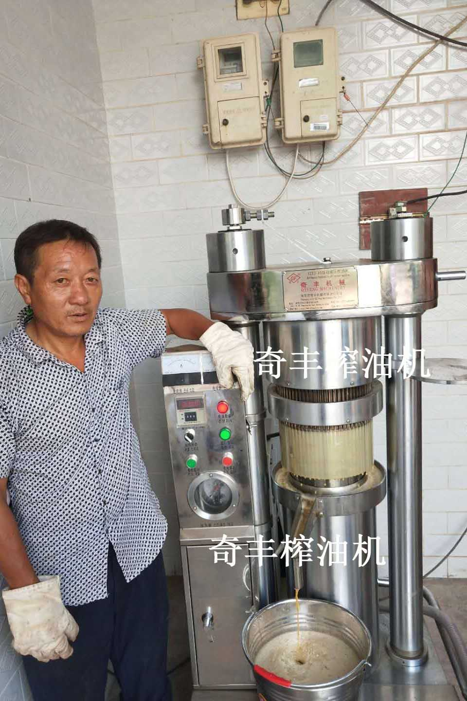 河南新型榨油机
