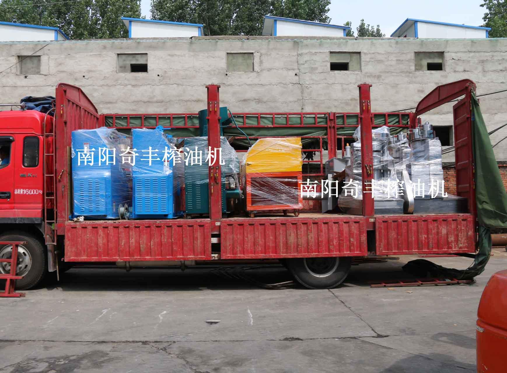 河南大型榨油機成功案例