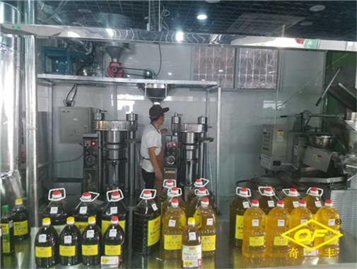 南陽奇豐機械為您解讀螺旋榨油機出餅慢、不出餅、不進料怎么辦?