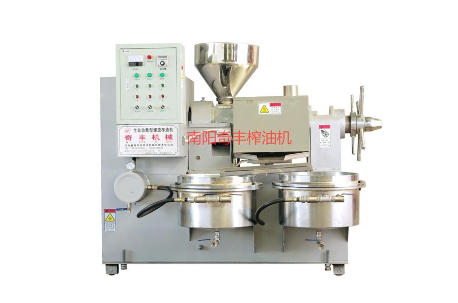 河南螺旋榨油机为你讲解螺旋榨油机的工作原理和注意事项