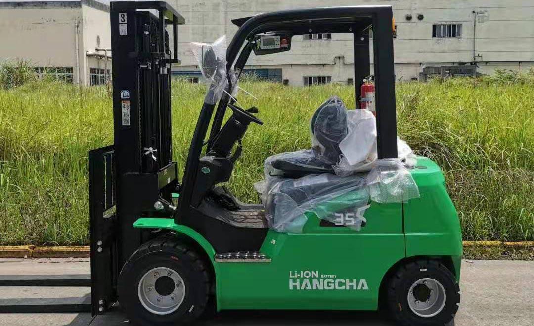 四川电动叉车案例